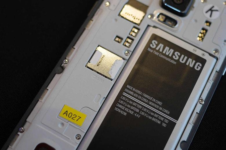 Thay pin Samsung điện thoại chính hãng