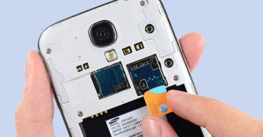 Sửa main thay ổ sim thẻ nhớ
