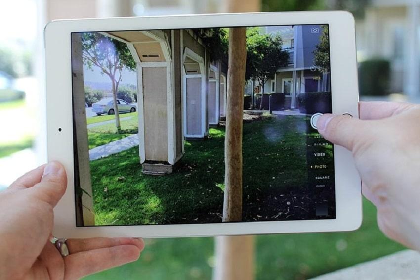 Rơi rớt có thể dẫn đến việc phải thay camera iPad