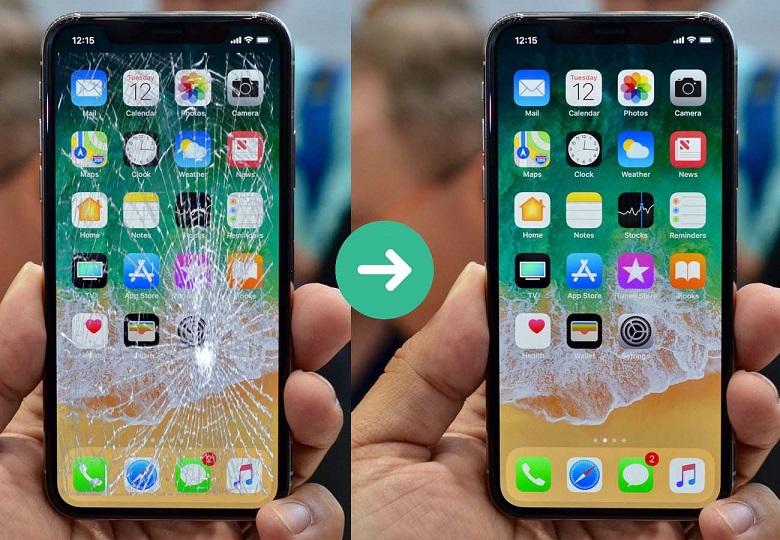 thay màn hình iPhone Viện 2
