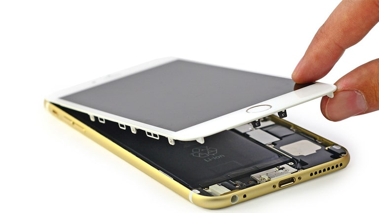 Ép kính iPhone thay mat kinh iphone viendidong 5