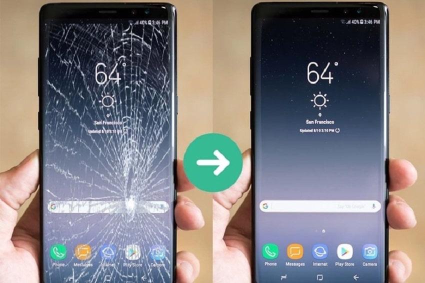 Thay mặt kính Samsung giá rẻ