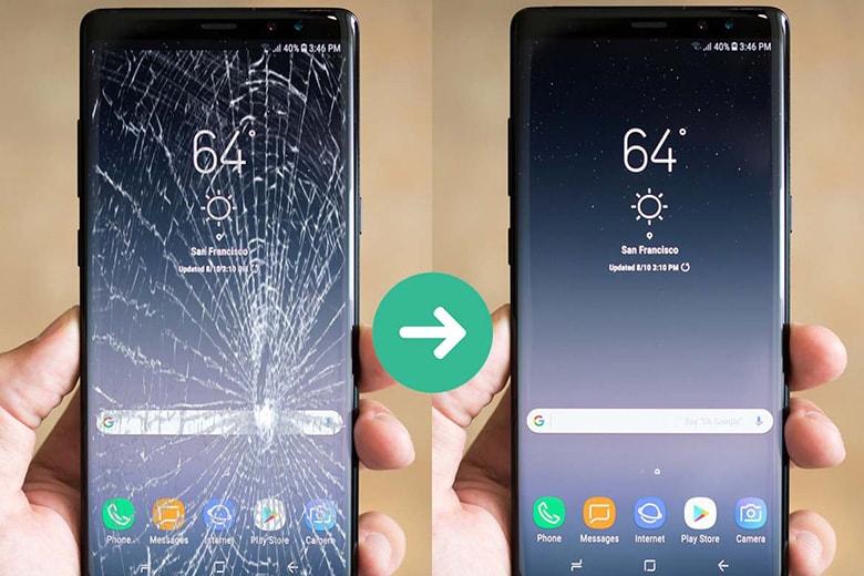 Thay màn hình Samsung điện thoại