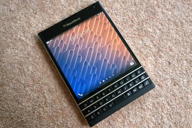 Sau khi thay màn hình BlackBerry