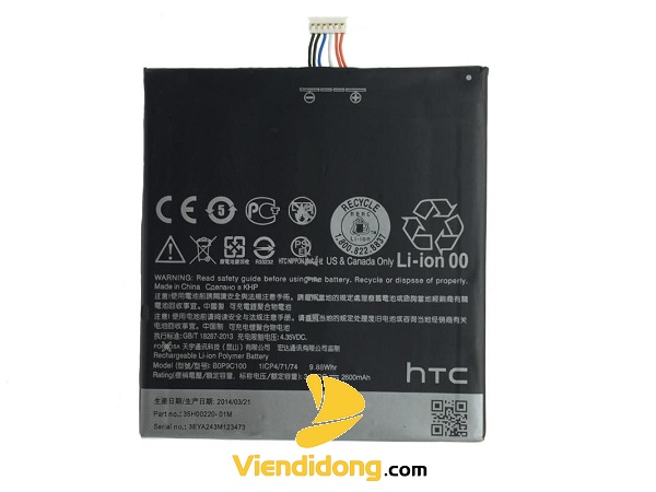 Thay pin HTC DESIRE 816