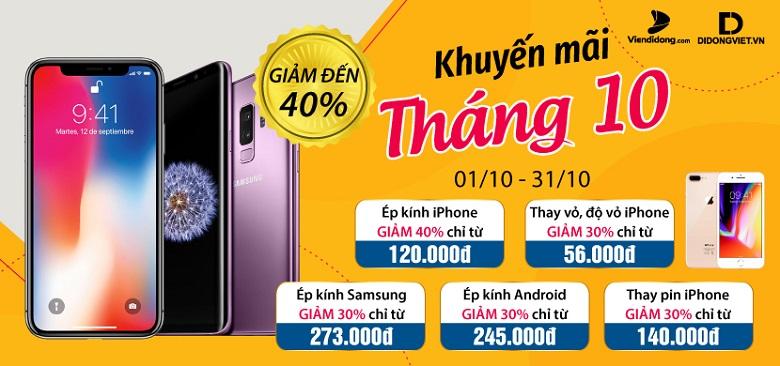 km-thang-10-sua-chua-smartphone-giam-den-40-viendidong
