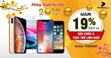 Khuyến mãi chào 2019: Tút lại smartphone giảm giá đến 19%