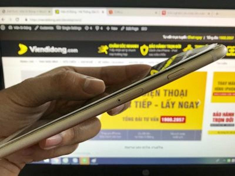 """""""Bí Kíp"""" Khắc Phục Lỗi Màn Hình iPhone Bị Cập Kênh 2 3 435x299 3"""
