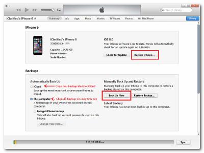 Cách Cứu Chữa Màn Hình iPhone 6 Bị Trắng Hiệu Quả 2