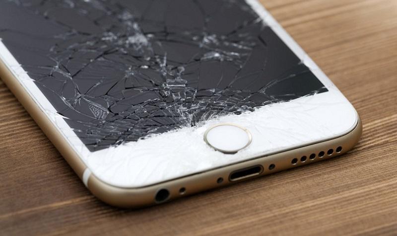 Khi màn hình iPhone 6 bị vỡ