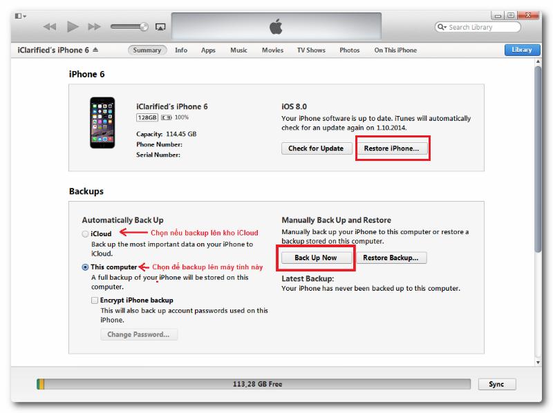cài đặt lại để sử lỗi màn hình iPhone bị tối một góc