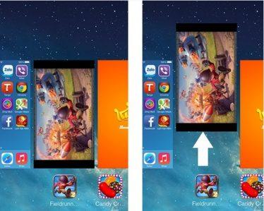 Chạy nhiều app khiến màn hình iPhone 6 bị rung giật