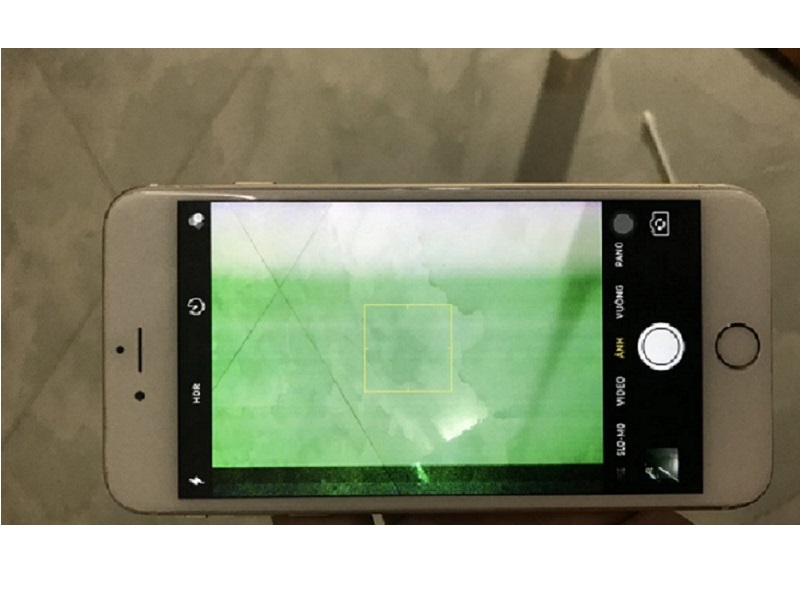 Cách Fix Lỗi Màn Hình iPhone 6 Bị Sọc Xanh