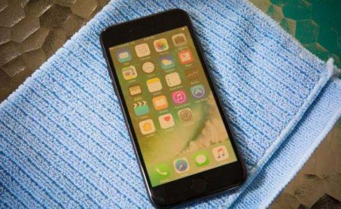 Ảnh chụp màn hình iPhone 6 bị vàng