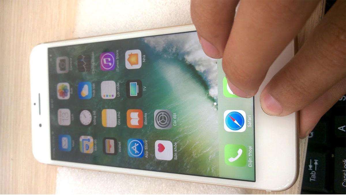 Cách sửa màn hình iPhone 6, 6 plus kêu tạch tạch