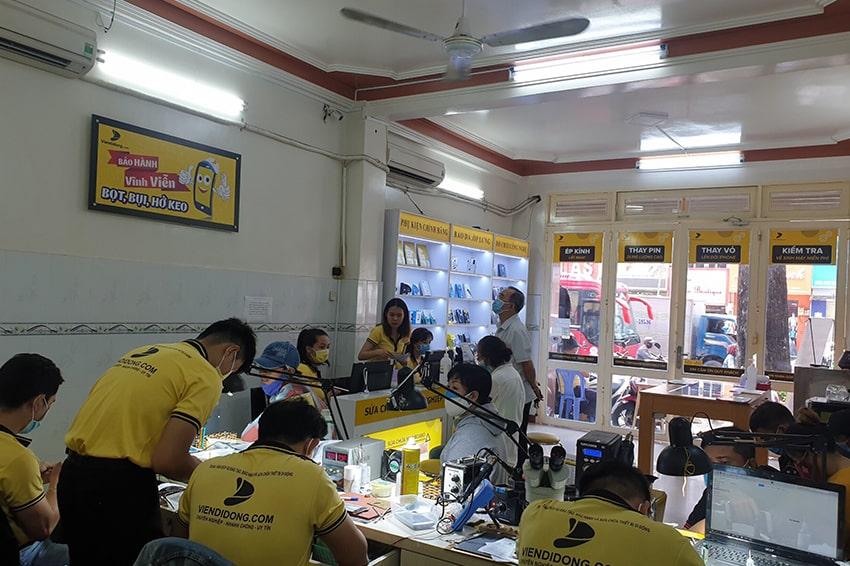 Viện Di Động là nơi sửa chữa điện thoại uy tín được nhiều khách hàng tin tưởng