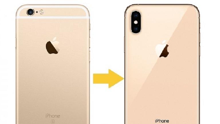 Độ vỏ iPhone 6 Plus lên iPhone Xs Max