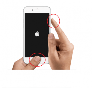 """Cách """"Cấp Cứu"""" iPhone 6 Bị Rơi Không Lên Màn Hình."""