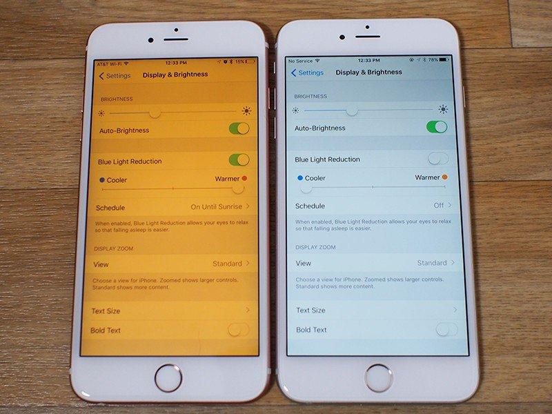 Lỗi màn hình iPhone 6 bị vàng xung quanh