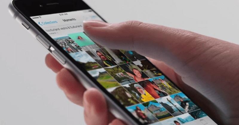 Thay màn hình iPhone 6S bị giật hình
