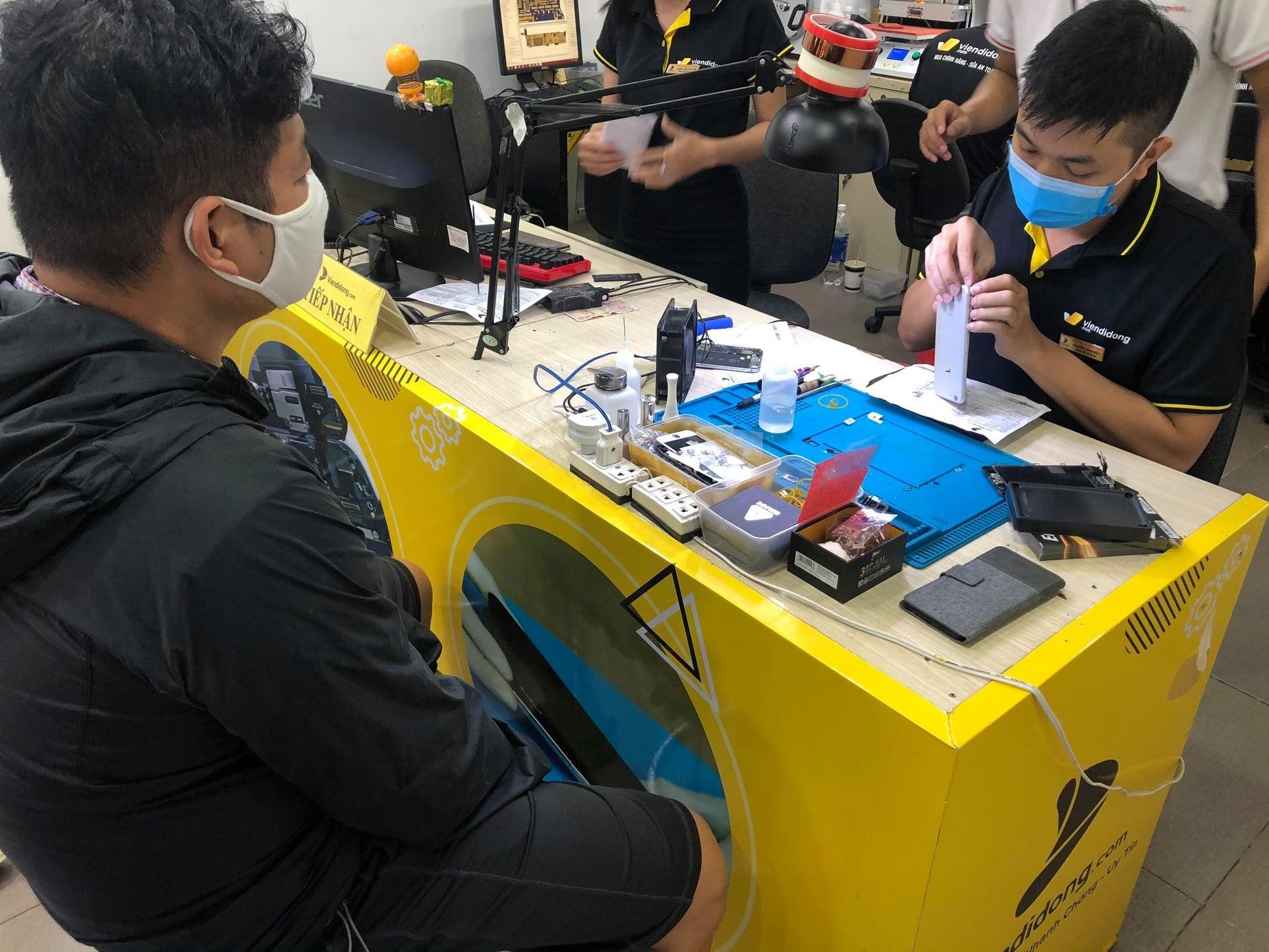Viện Di Động - cơ sở sửa chữa uy tín cho các dòng Smartphone, iPad, Apple Watch...