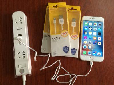 Nơi Bán Cáp Sạc iPhone 6 Pisen Chính Hãng 6 1