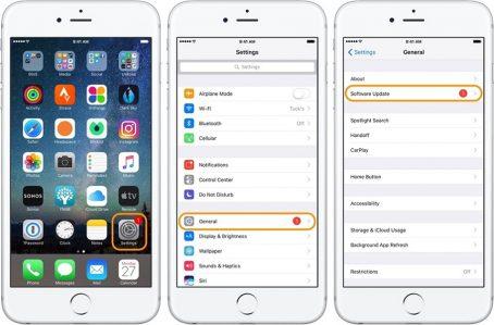 Xử lý lỗi pin iPhone 6 sụt nhanh