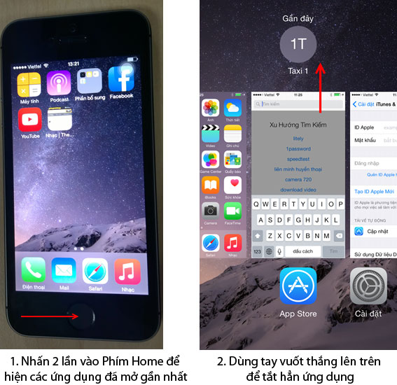 Pin iPhone 6 bị sụt nhanh vì quá nhiều ứng dụng ngầm