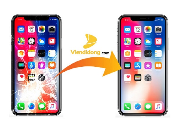 Ép kính iPhone XS Chính Hãng zin Giá Rẻ