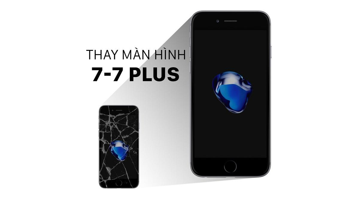 Thay màn hình iPhone 7 plus thegioididong giữ 2 tuần