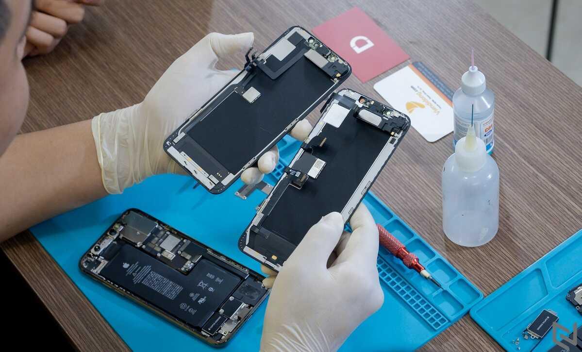 Ép Màn Hình iPhone XS Max Là Gì?