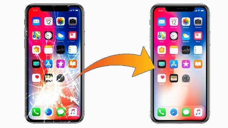 Ép kính iPhone XS Max