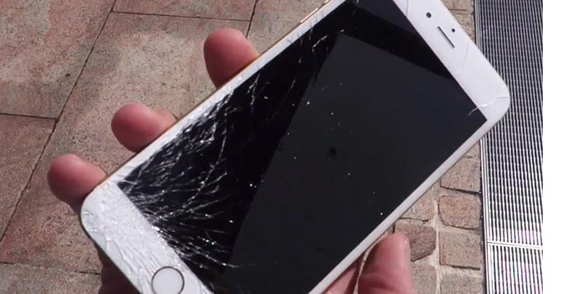 xử lý Màn hình iPhone 8 bị vỡ