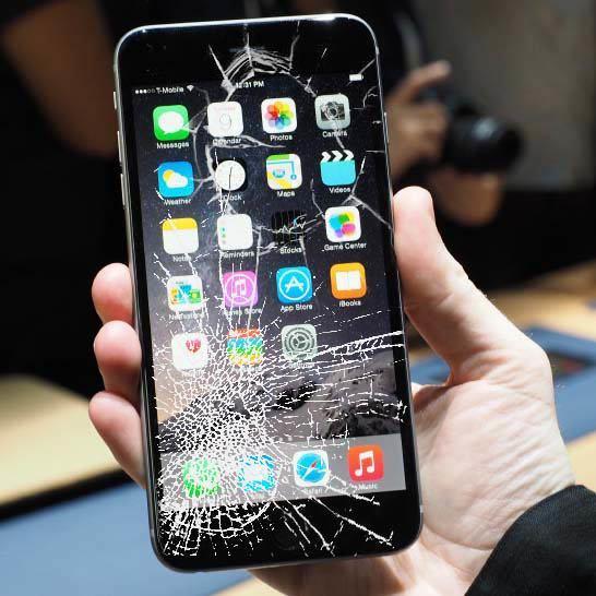 Xử lý màn hình iPhone 8 Plus bị vỡ