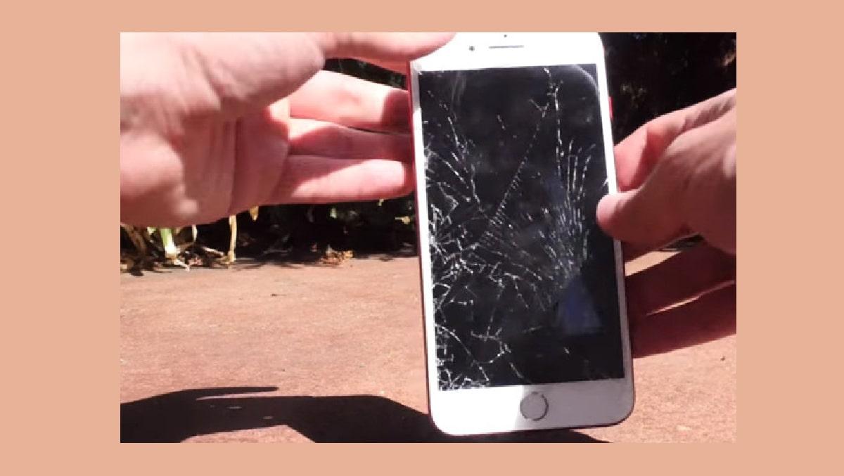 Xử lý màn hình iPhone 7 bị vỡ