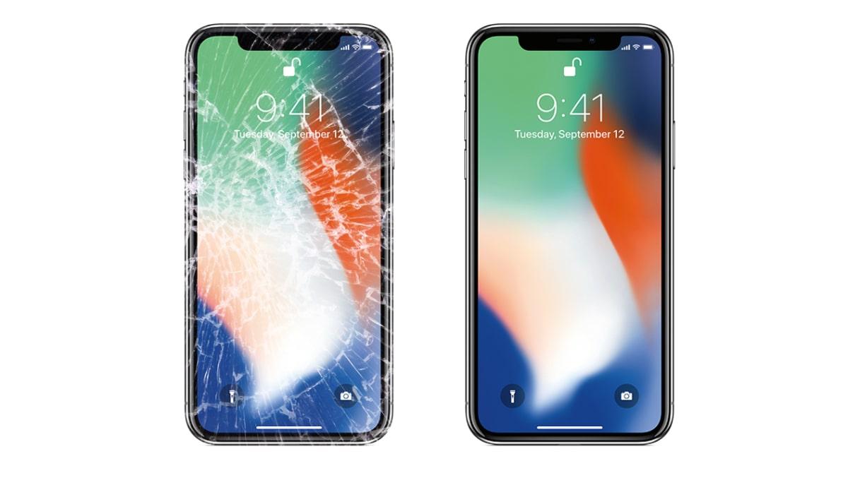 Ép kính iPhone X chính hãng zin giá rẻ