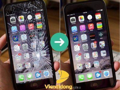 Kết quả ép kính iPhone 6 chính hãng zin 100%