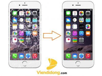 Thay đổi khi ép kính iPhone 6S Plus trở nên đẹp hơn