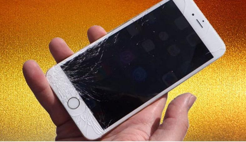 màn hình iPhone 6 bị vỡ