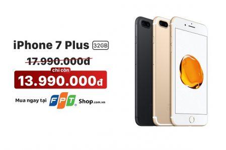 Mua iPhone 7 Plus ở FPT cũng muốn thay màn hình tại đây
