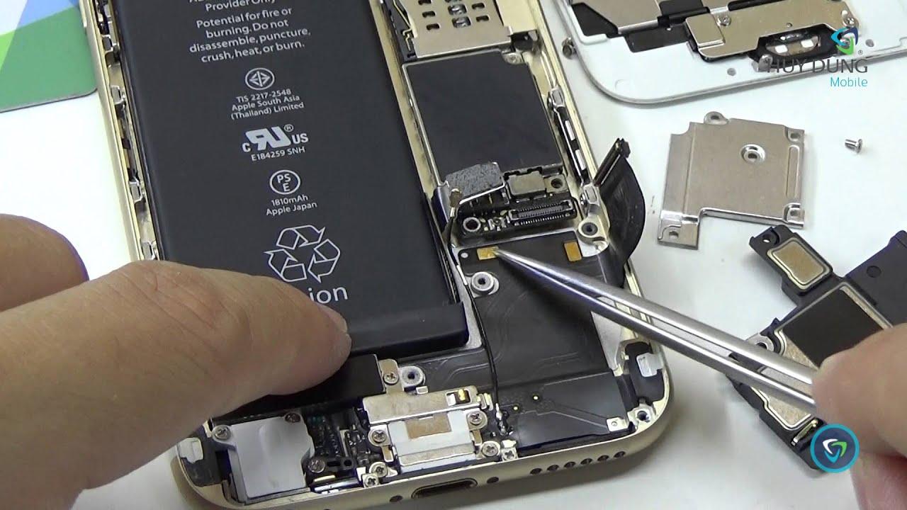 Thay loa ngoài iPhone thay loa ngoai chinh hang gia re tai Vien Di Dong