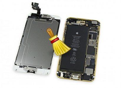 Vệ sinh kỹ tránh lặp lỗi màn hình iPhone 6 bị đơ về sau