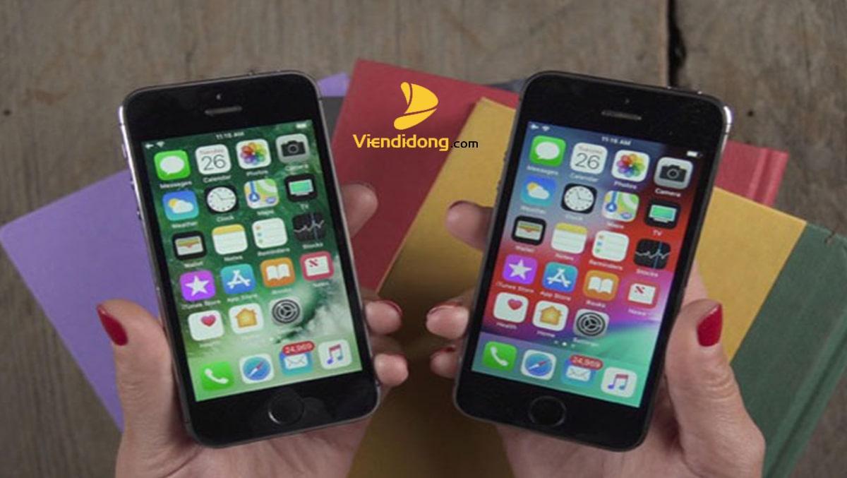 Xử Lý Màn Hình iPhone 5S Bị Vỡ