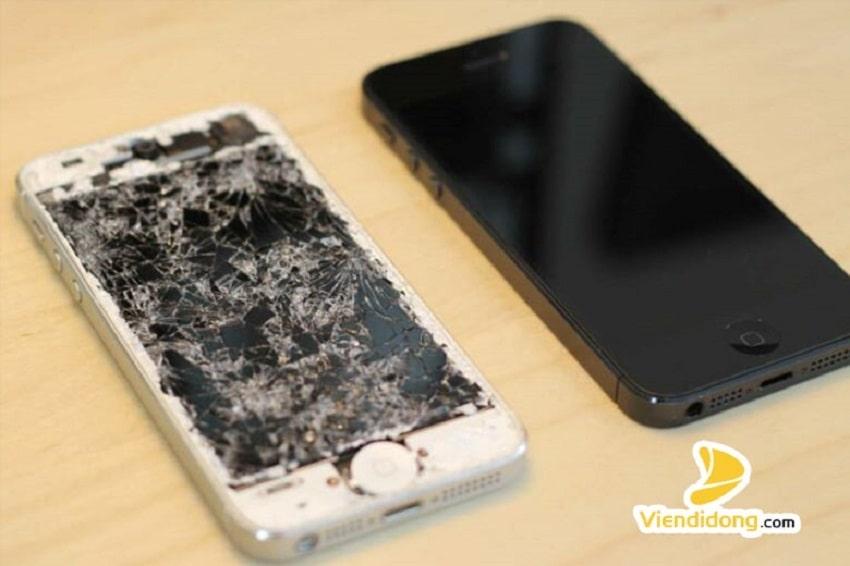 Xử lí màn hidnh iPhone 5s bị vỡ