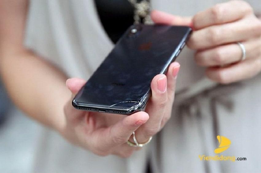Xử lí màn hình iPhone X bị vỡ
