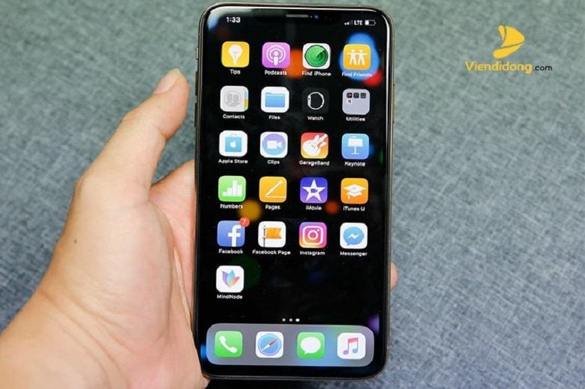 Xử lí màn hình iPhone Xs max bị vỡ