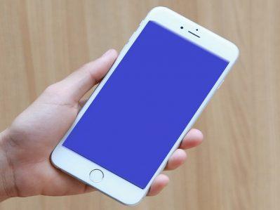Khi iPhone 6 bị màn hình xanh