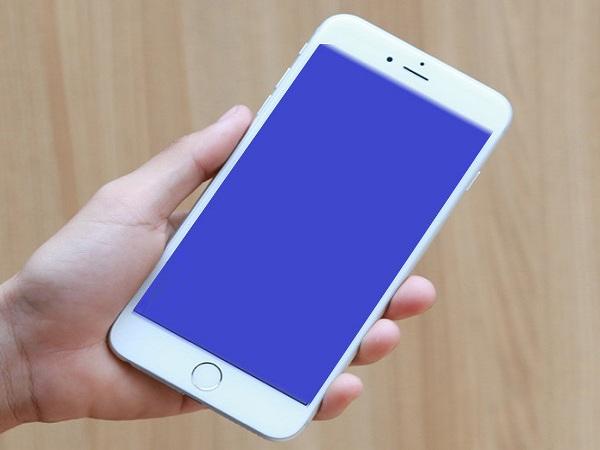 Cách khắc phục iPhone 6 bị màn hình xanh