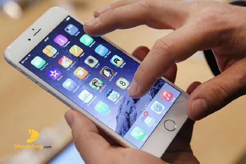 Màn hình iPhone 6 bị đơ nhẹ thì có thể khắc phục tại nhà
