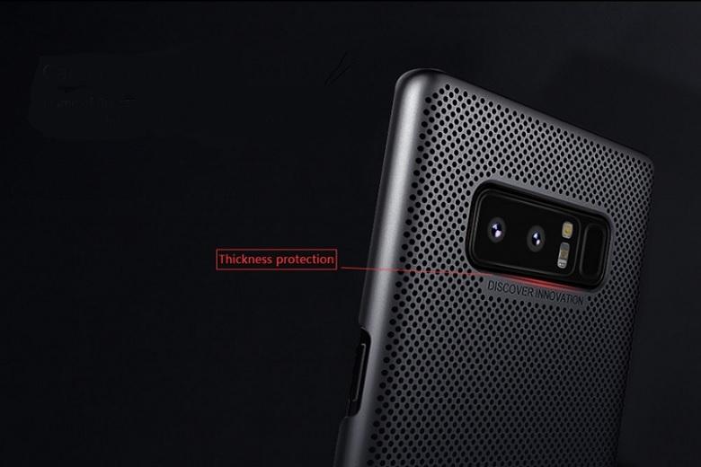 Ốp lưng Nillkin Carbon Fiber Samsung Galaxy Note 8 có viền bảo vệ camera